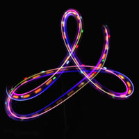 orbit light patterns triquetra