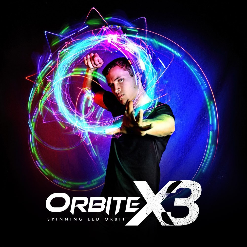 Light Up LED Orbit X3
