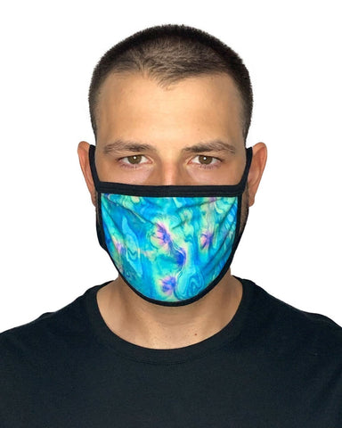 Acid Lagoon Face Mask-Male-front