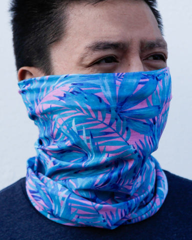 Aquatic Jungle Seamless Mask Bandana-Lifestyle3