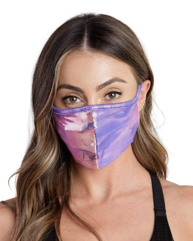 Miss Cosmic Filtered Face Mask-Front