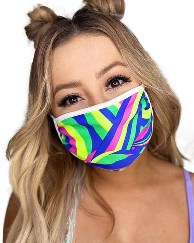 In the Groove Face Mask-Front