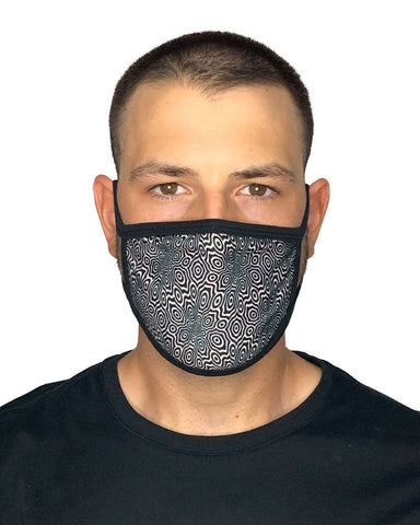 Optical Odyssey Face Mask-Male-Front