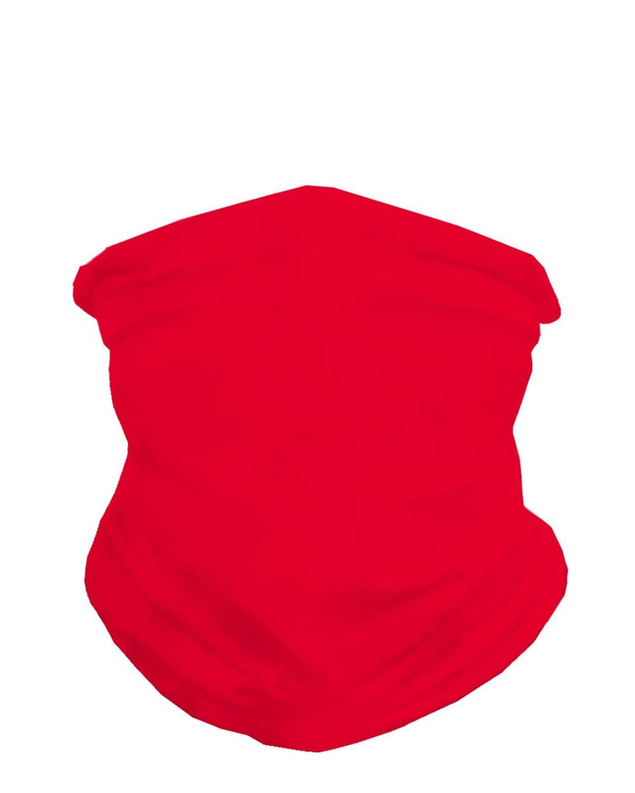 Cherry Red Seamless Bandana-Front