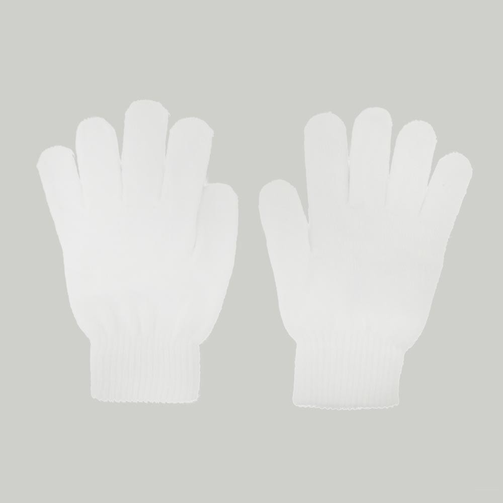 Emazing Magic Stretch Replacement Gloves for Light Gloves - White Pair