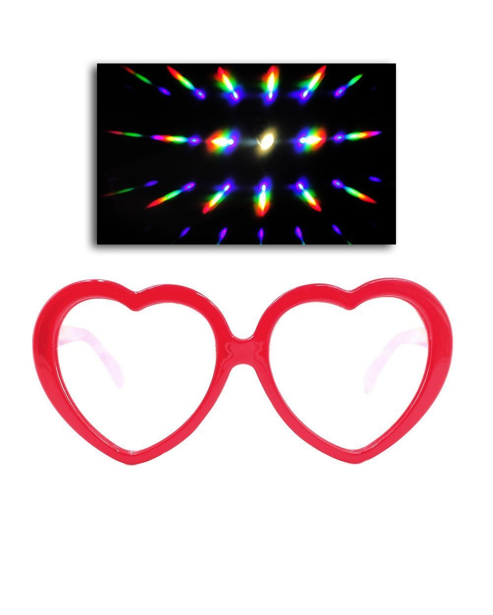 Love Lens Diffraction Glasses-front