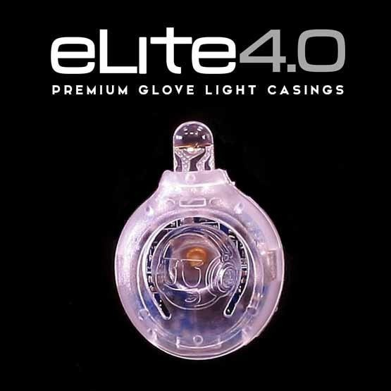 eLite 4.0 Casing for LED Glove Lights  (10 pack) - Clear