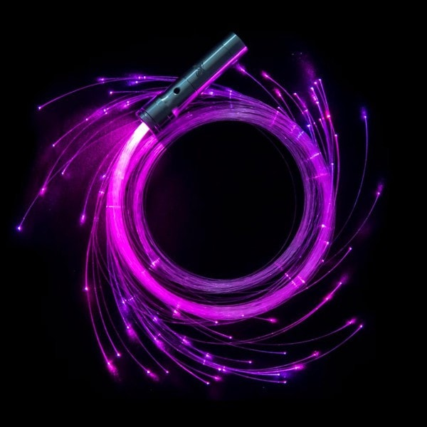 FiberFlies Pixel Whip Purple
