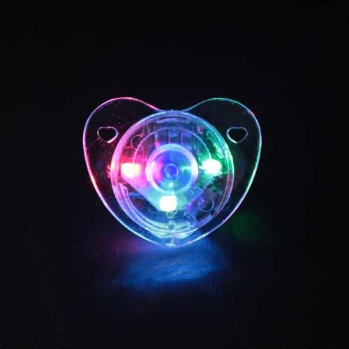 LED Pacifier for Music Festvals 1