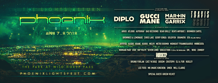 5 Artists to Check Out at Phoenix Lights 2018