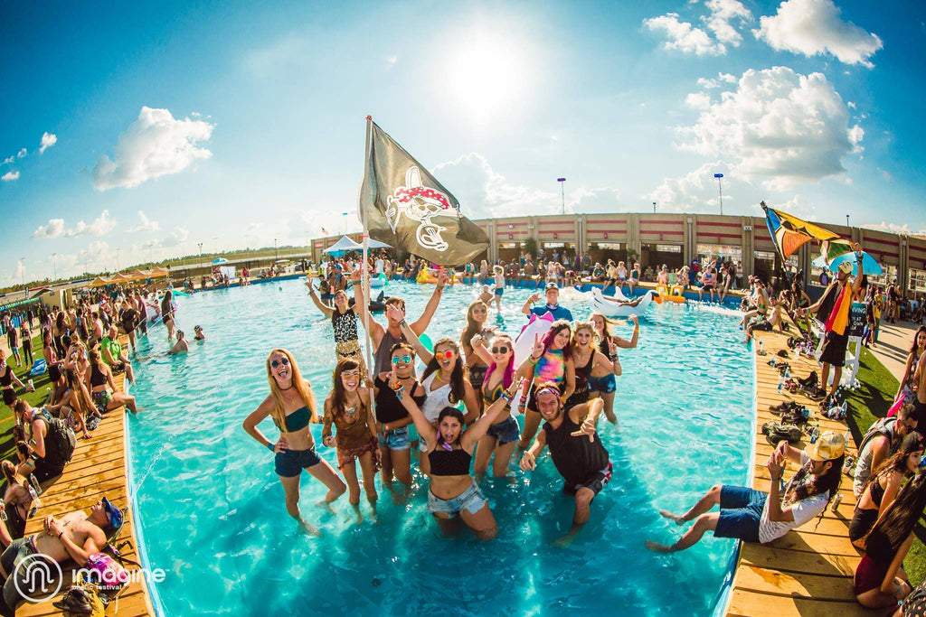 Imagine Music Festival Pool