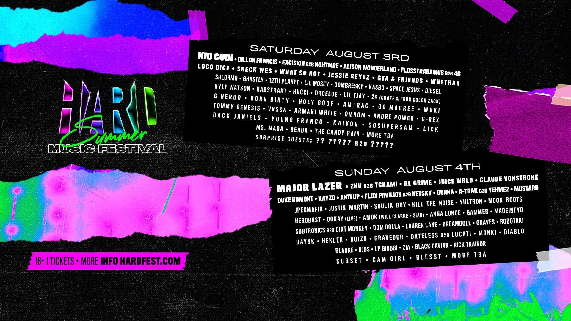 HARD Summer 2019: Sets Not to Miss
