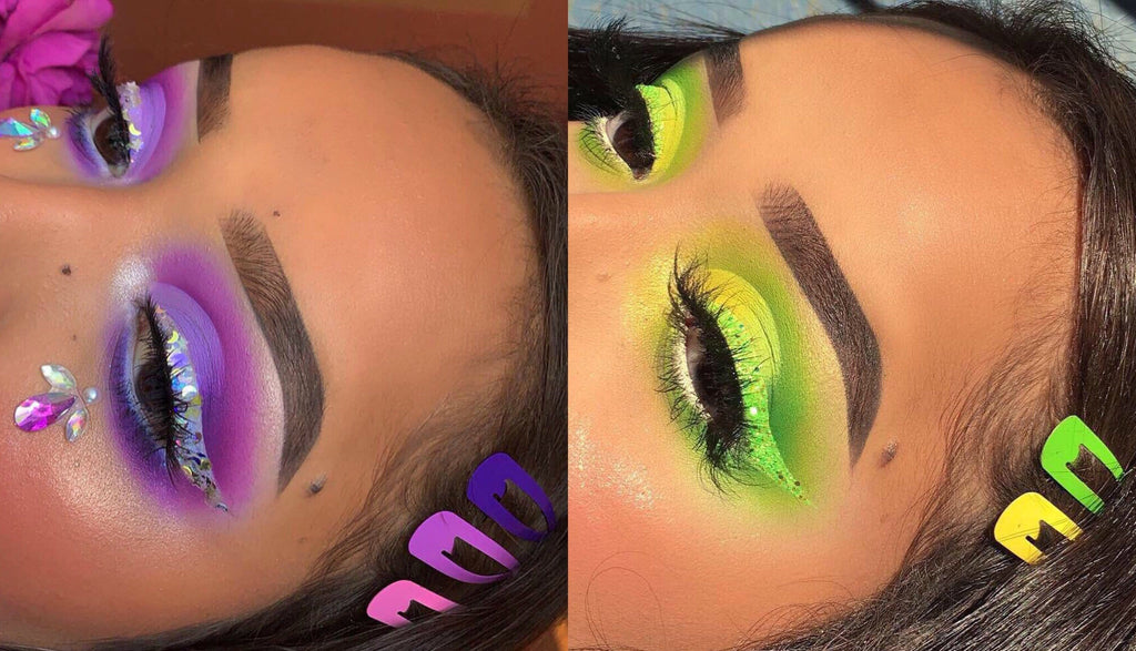Festival Makeup 101: How to Create Neon Makeup Looks