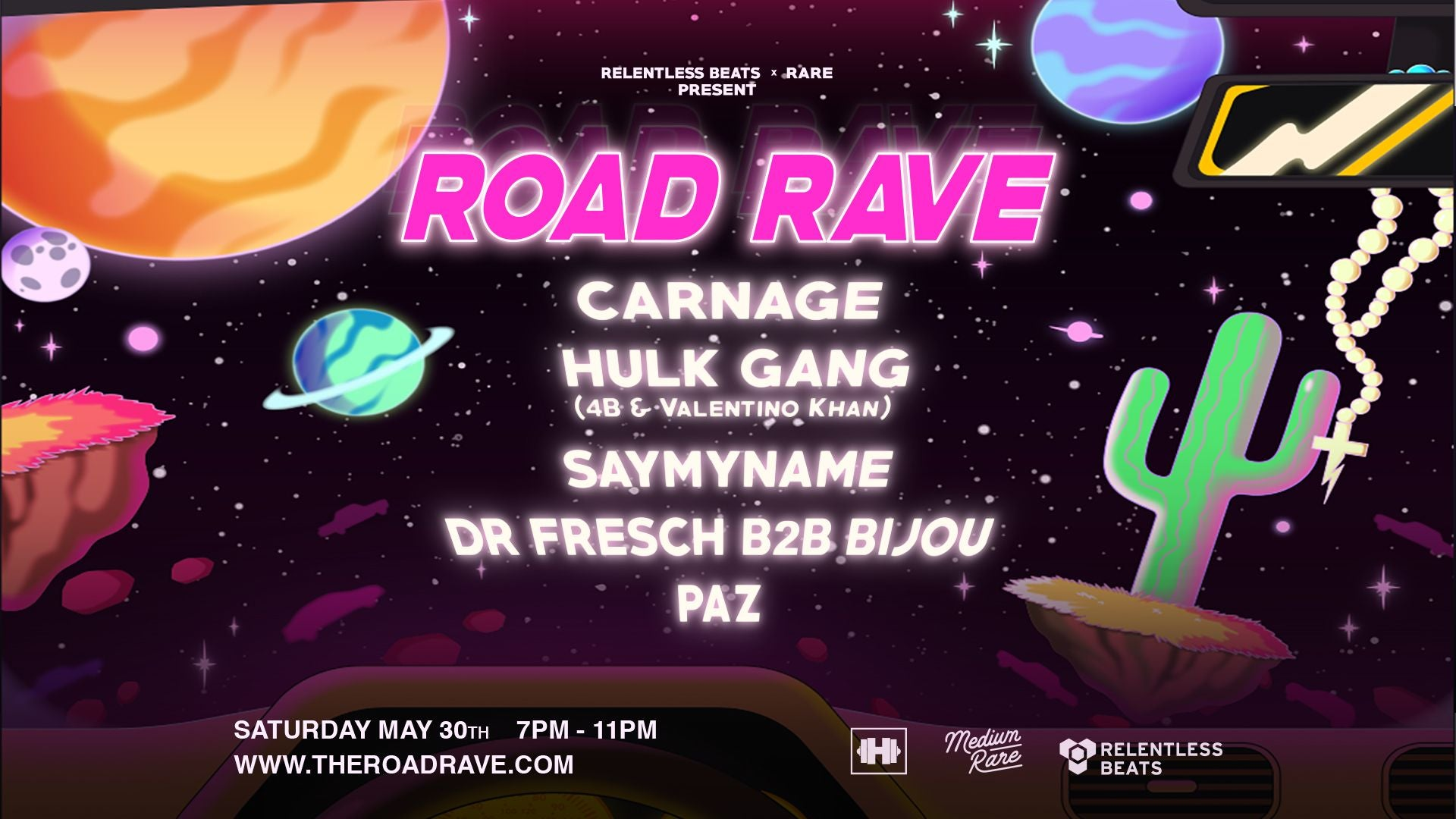 Getting Ready For Road Rave Arizona