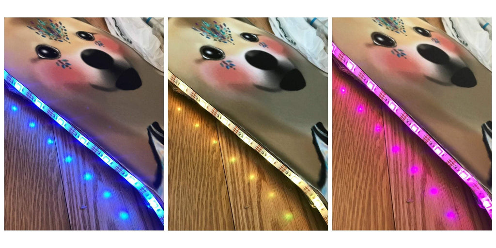 LED Light Up Dog Totem
