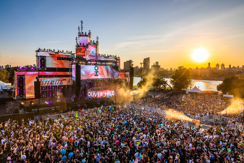 Electric Zoo Mainstage at Sunset