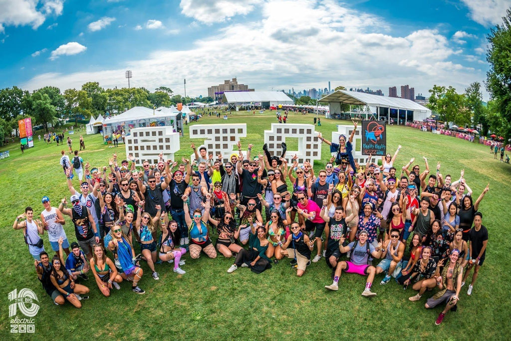Electric Zoo Festival Squad Pic