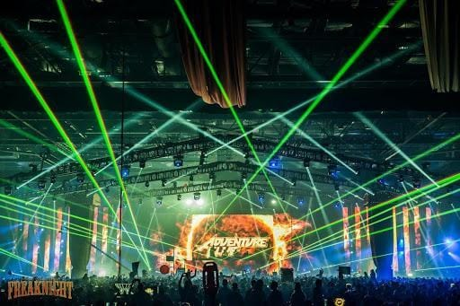 Adventure Club at Freaknight Music Festival In Seattle Washington