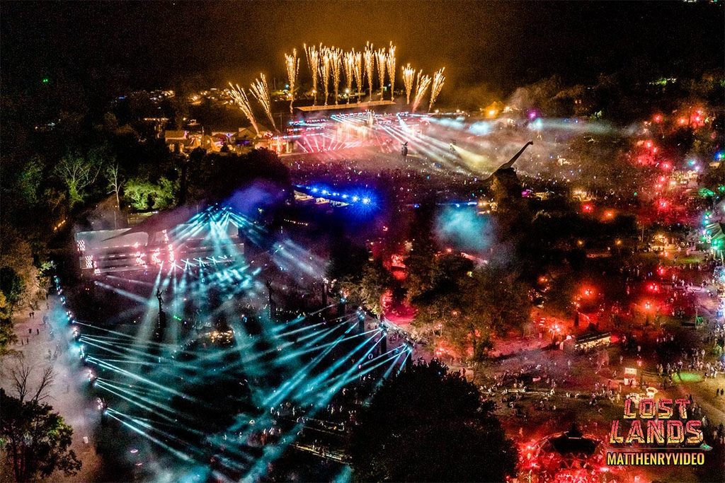 Lost Lands at Nightime
