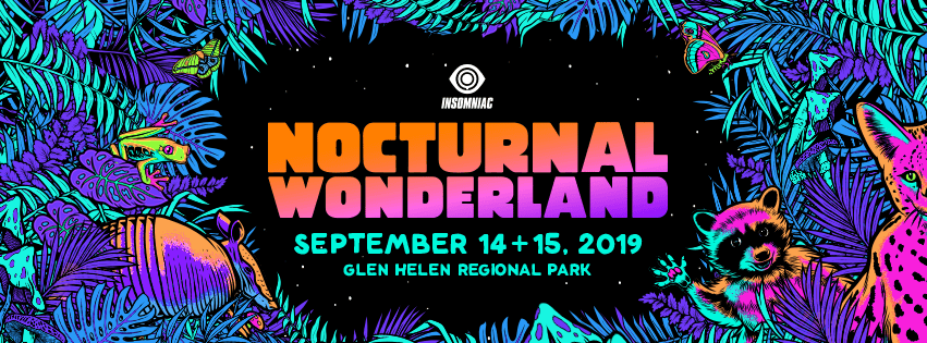 Nocturnal Wonderland 2019 Lineup