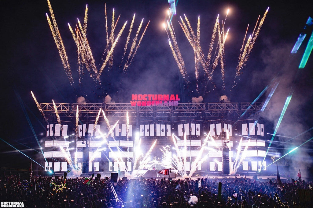 Nocturnal Wonderland Mainstage with Fireworks