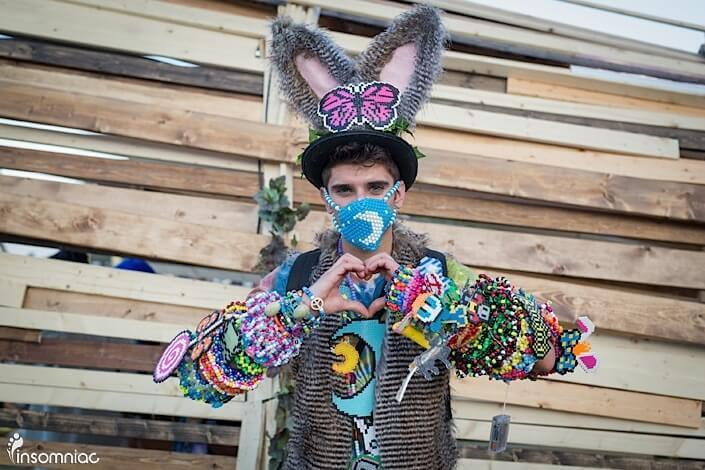 interview with plur rabbit raver influencer