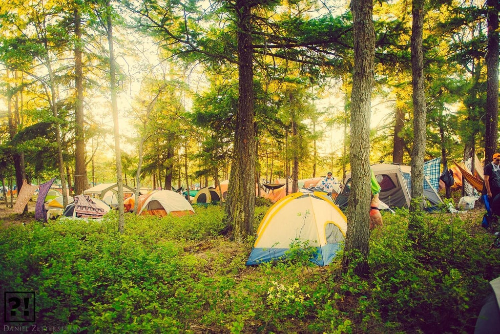 OVERNIGHT FESTIVALS: TRICKS TO BEING A HAPPY CAMPER