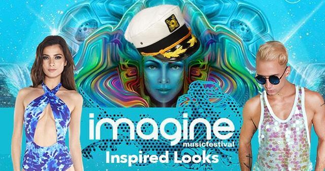 Under the Sea Inspired Looks for Imagine Music Fest