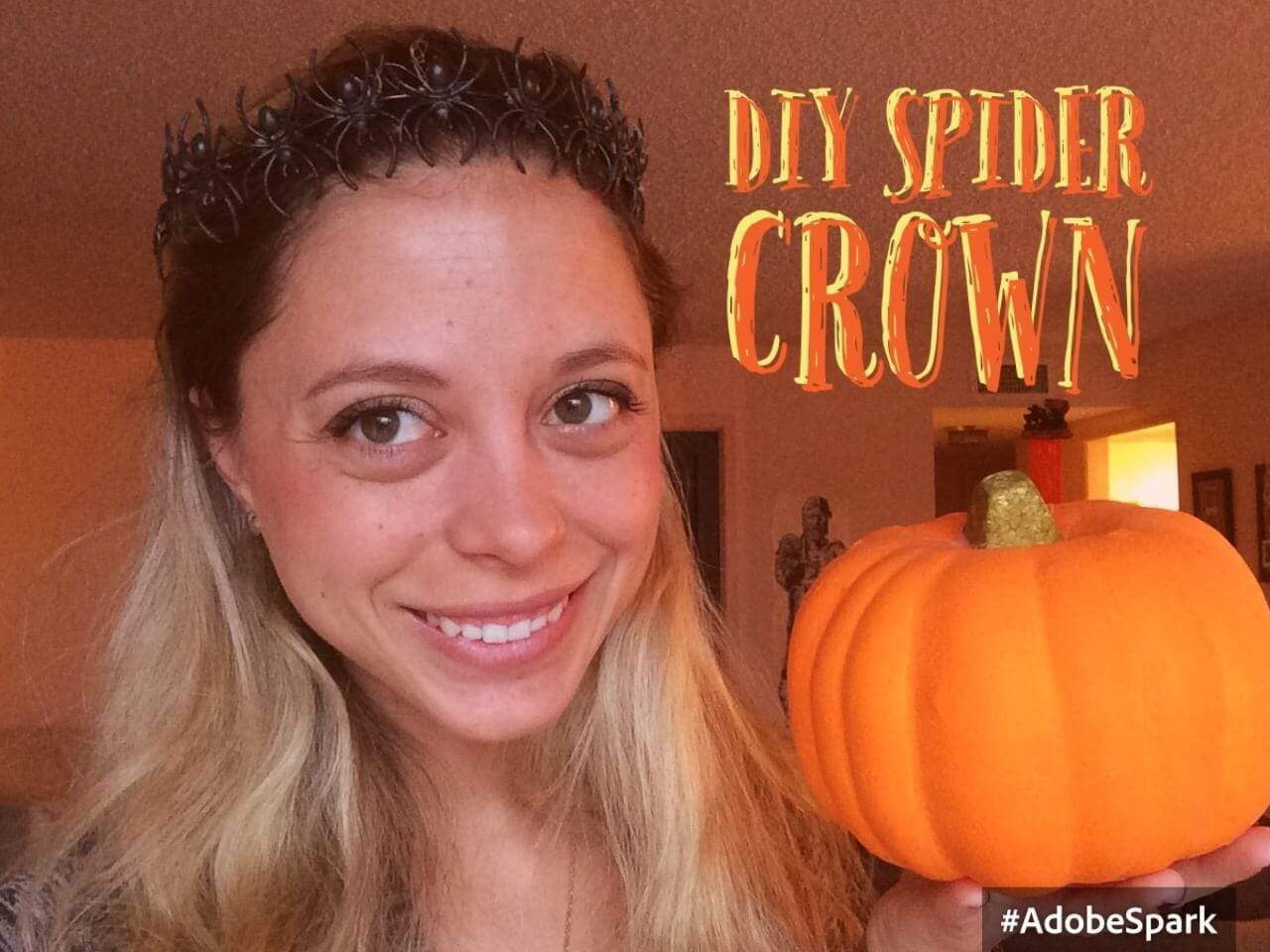 DIY SPIDER CROWN
