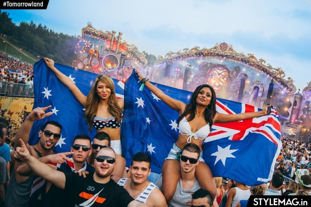 RAVES AROUND THE WORLD: AUSTRALIA