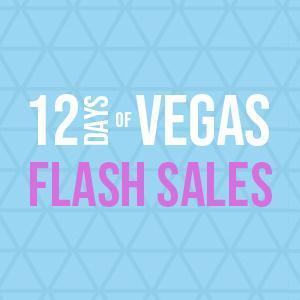 12 Days of Vegas Flash Sale