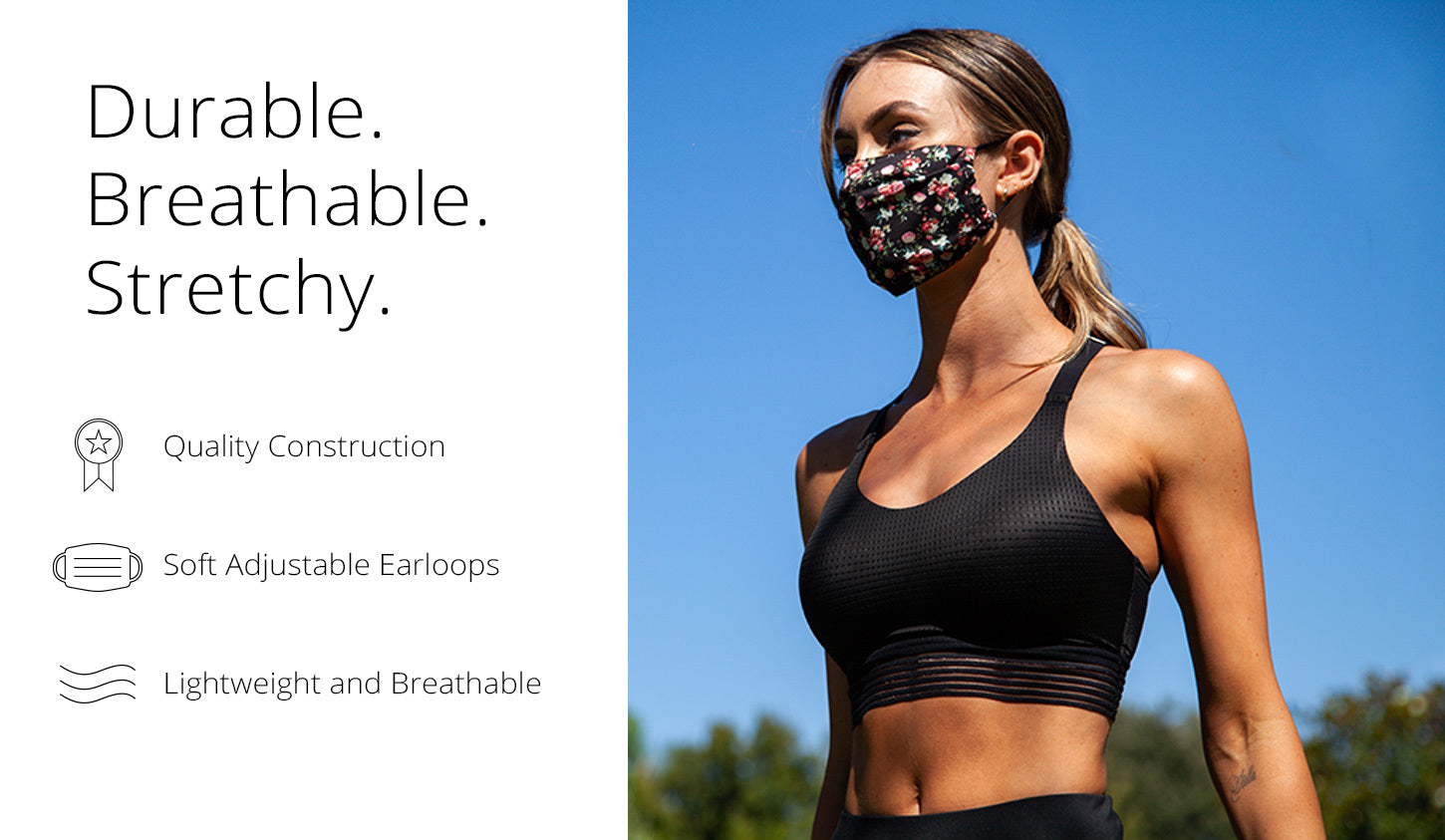 Durable Breathable Stretchy