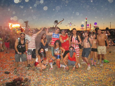 America Themed Rave Squad