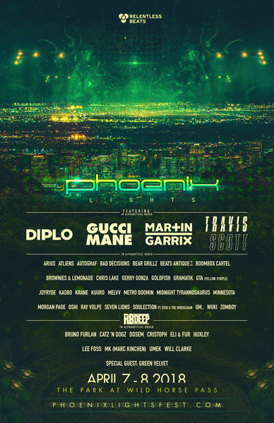 phoenix lights 2018 line up