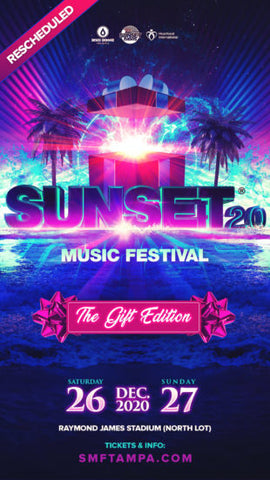 sunset music festival in december