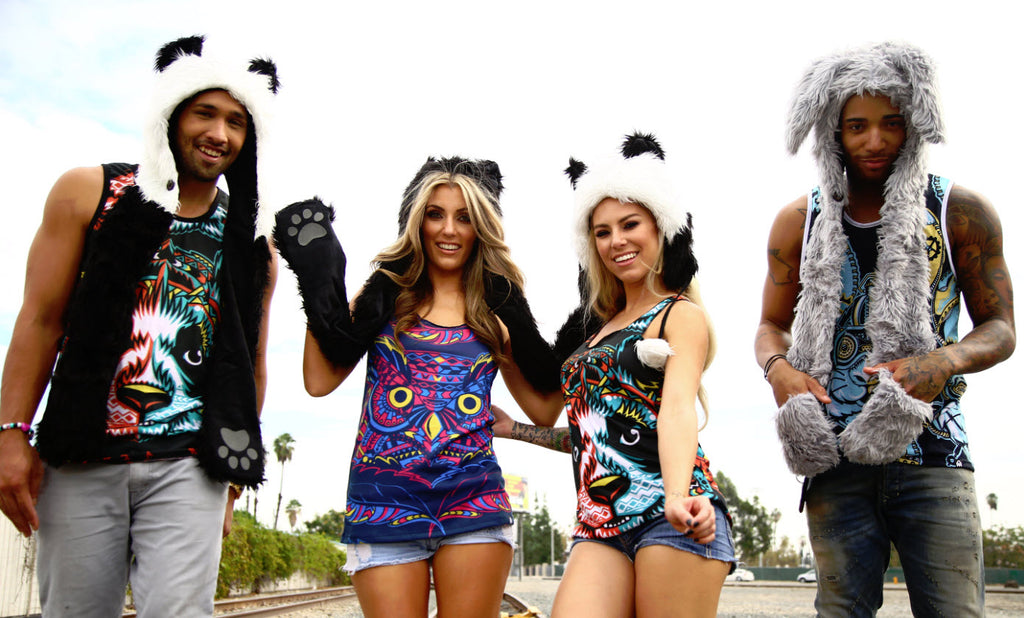 what to wear to an edm concert in winter