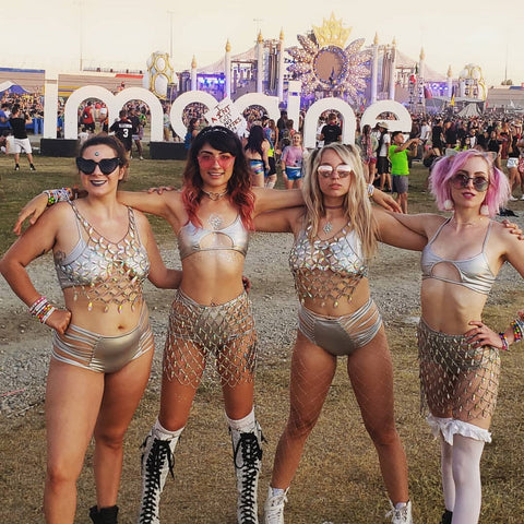 iHeartRaves Unicorn Crew at Imagine Music Festival
