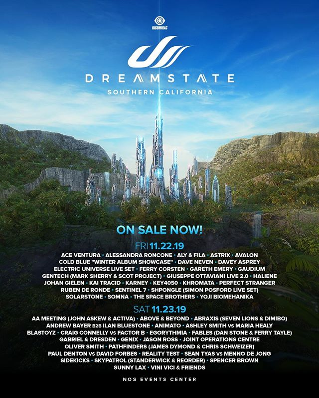 Dreamstate Lineup