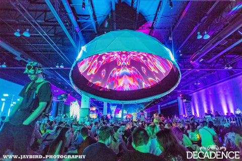 Dome Visuals at Decadence