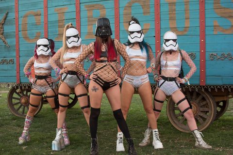 Storm Trooper Rave Cosutme IDea