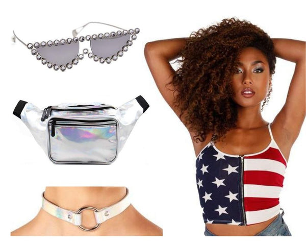 America Rave Outfit