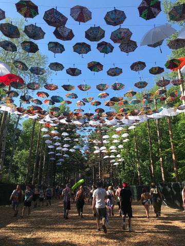 Artwork at Electric Forest