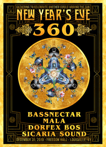 Bass Nectar New Year's Eve 360
