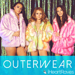 iHeartRaves Faux Fur Coats