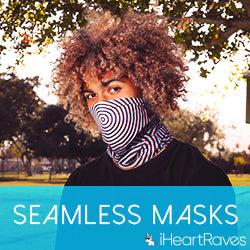 iHeartRaves Seamless Masks