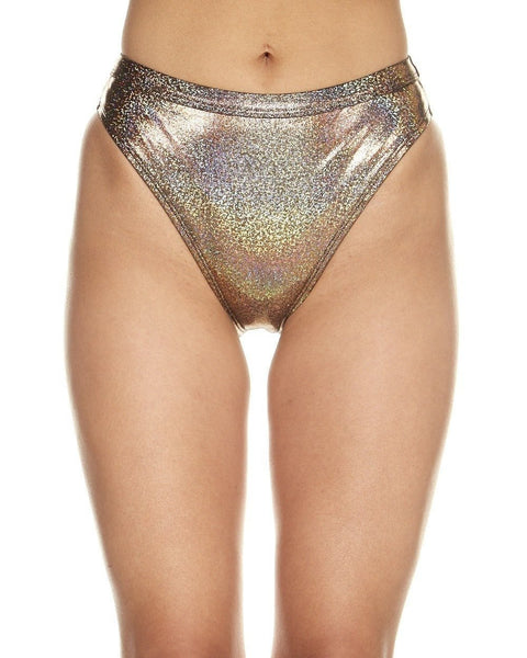 Gold High Cut Bottoms