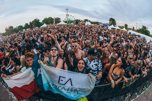Crowd at Ever After Music Festival Outdoor