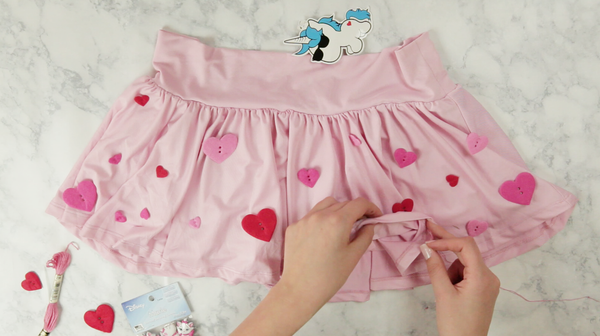 iHeartRaves Pink Mini Skater Skirt DIY