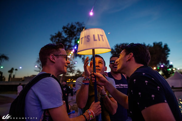 It's Lit Lamp at Dreamstate USA