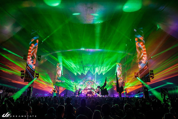 Lazers at Dreamstate USA
